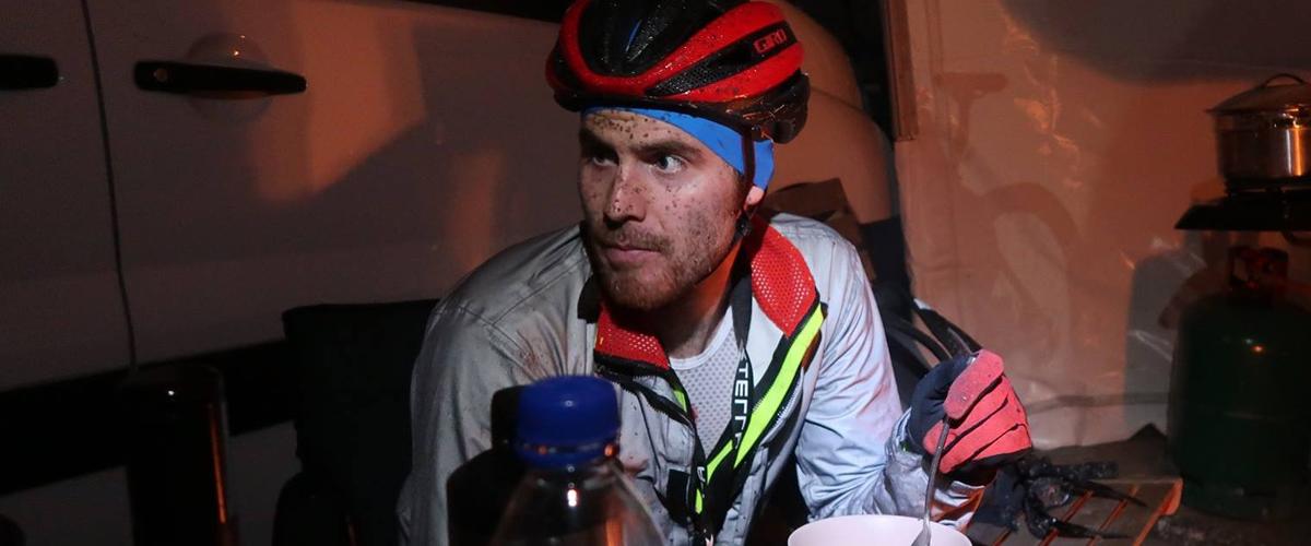 Relentless 24 hour mountain bike Blair Cartmell